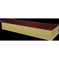 PWD-W - 150 MM, Płyty dachowe, wełna mineralna RAL 3009