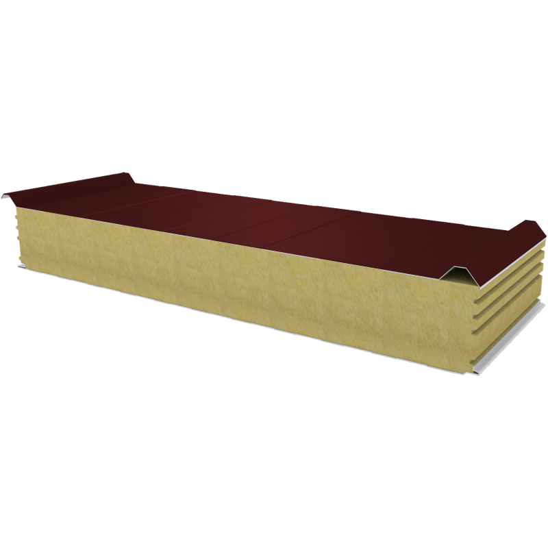 PWD-W - 150 MM, Roof panels, mineral wool RAL 3009