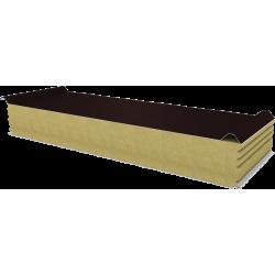 PWD-W - 150 MM, Płyty dachowe, wełna mineralna RAL 8017