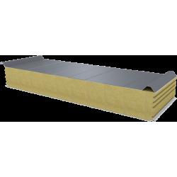 PWD-W - 150 MM, Płyty dachowe, wełna mineralna RAL 9006