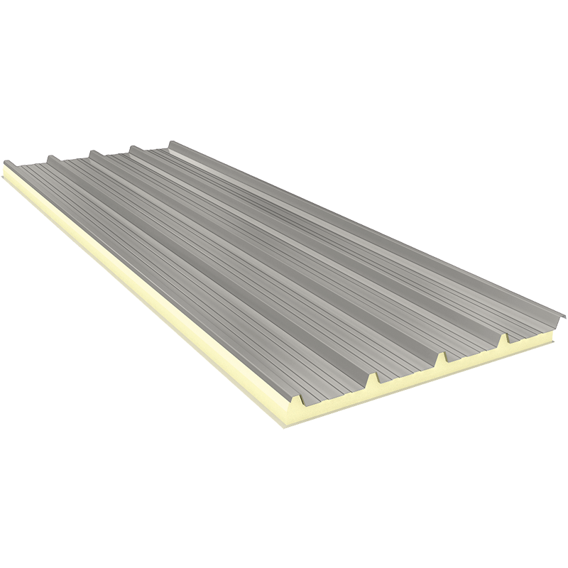 AGRO 50 mm - Fiberglass, roof sandwich panels RAL 9002