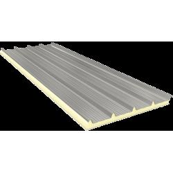 AGRO 80 mm - Fiberglass, Dach Sandwichplatten RAL 9002