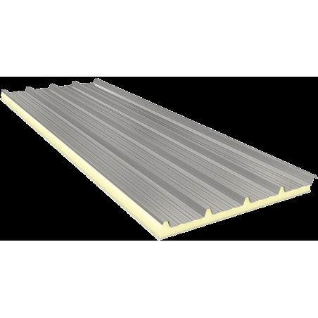 AGRO 100 mm - Fiberglass, dachowe płyty warstwowe RAL 9002