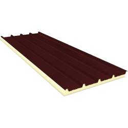 AGRO 120 mm - Fiberglass, roof sandwich panels RAL 3009