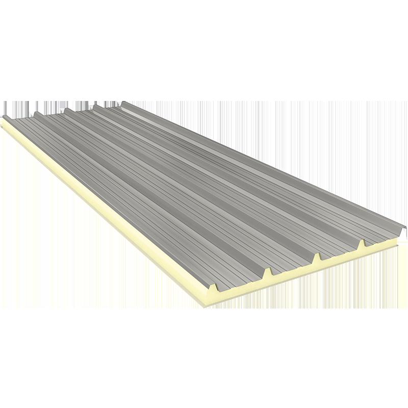 AGRO 140 mm - Fiberglass, Dach Sandwichplatten RAL 9002