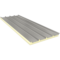 AGROPIR 80 mm, roof sandwich panels RAL 9002