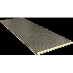 PGB 80 mm - nástěnné panely, viditelné upevnění RAL 9002