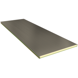 PGB 80 mm - Wandpaneele, sichtbare Befestigung RAL 9002